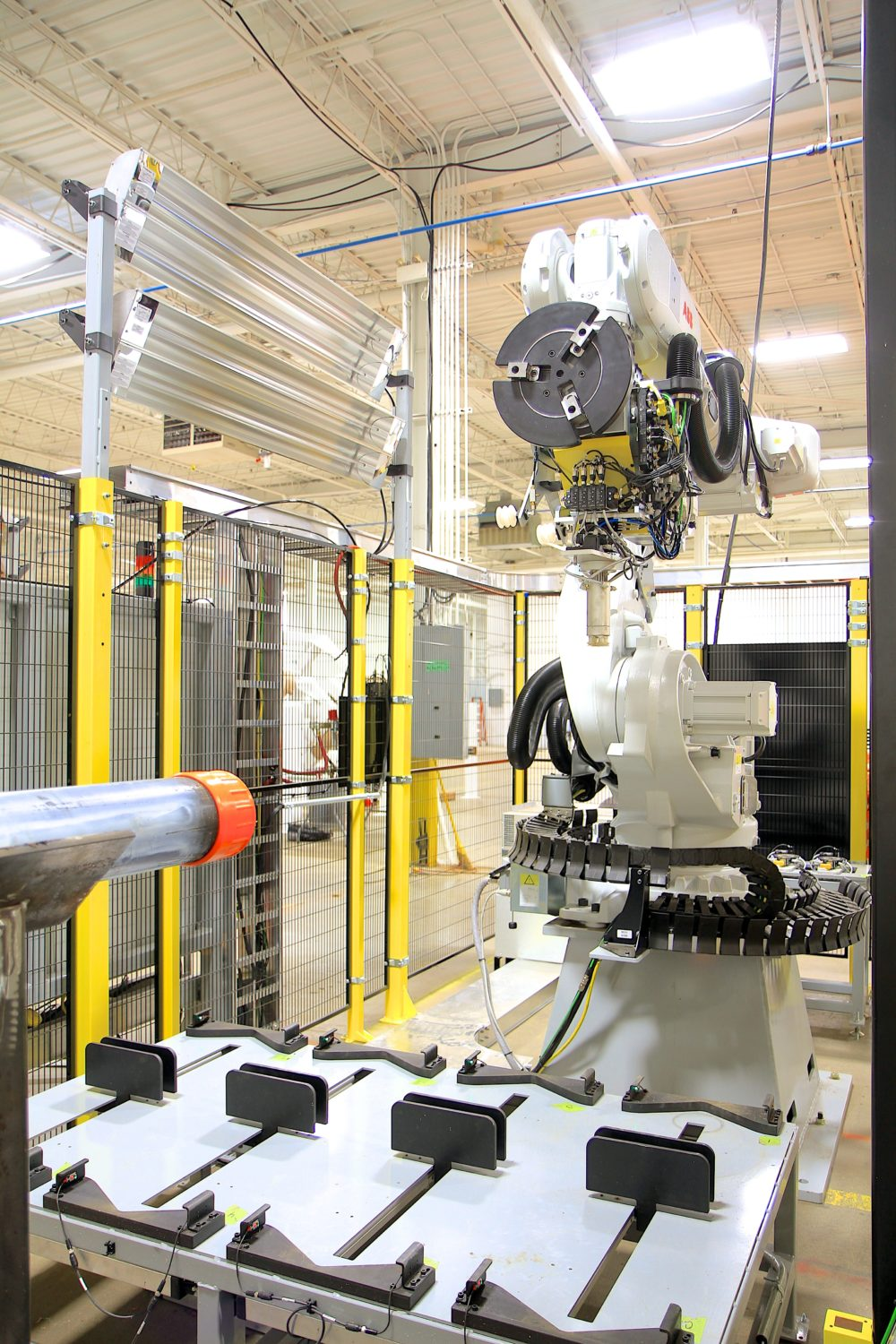 Tube & Pipe Robotic System in Cell