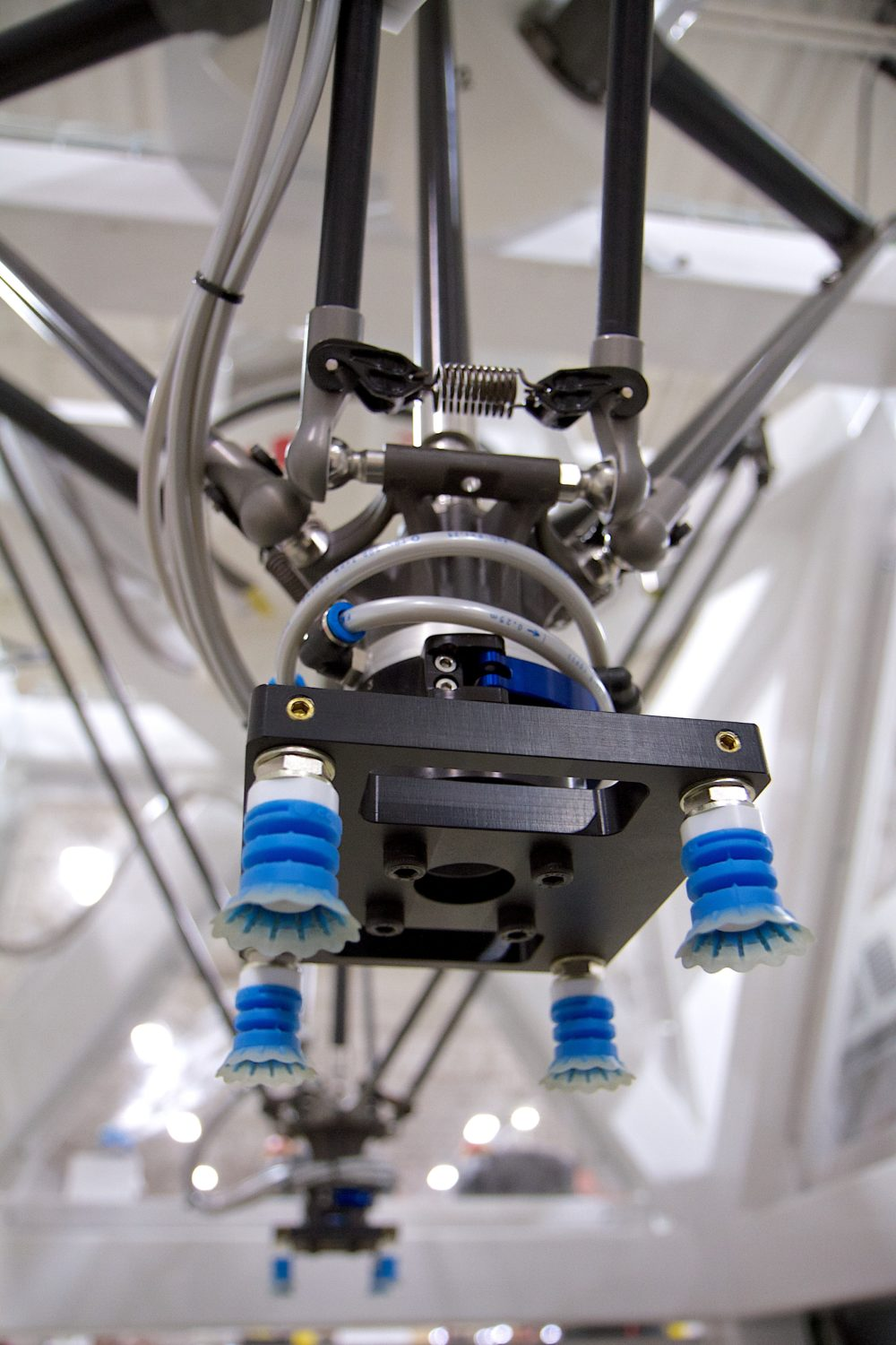 Robotic system with end of arm tool