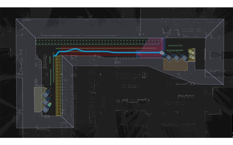 AMR engine delivery map