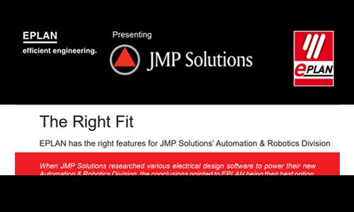 JMP EPLAN partnership announcement screenshot