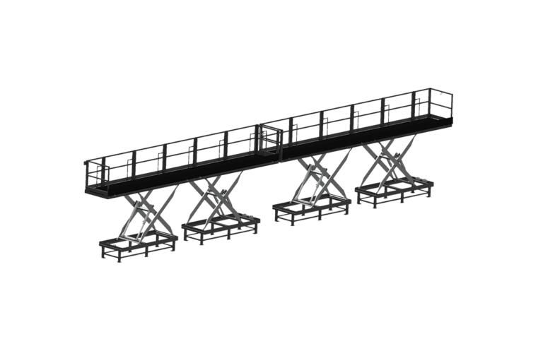 Modular roller conveyance carts