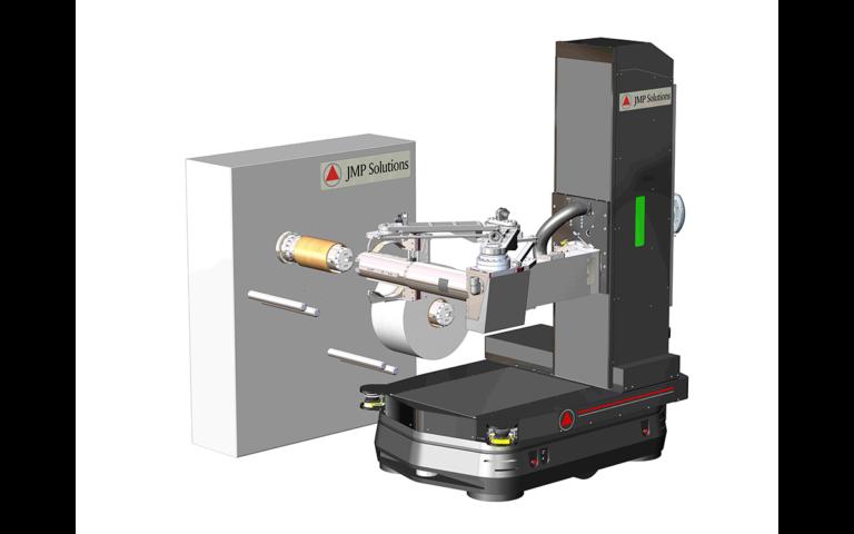 Wind Unwind Robotic Spool Tending Render