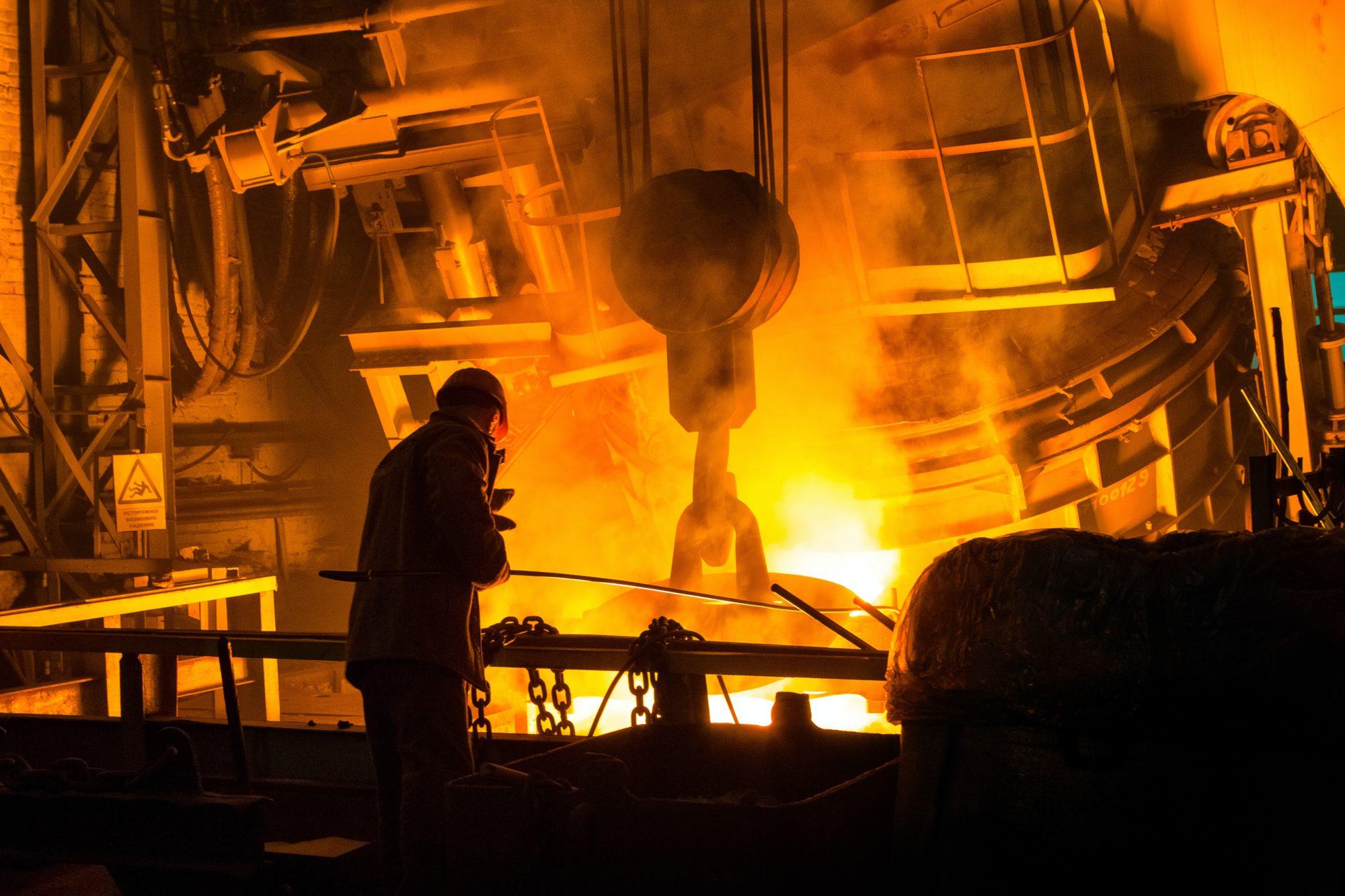 Metal refinery