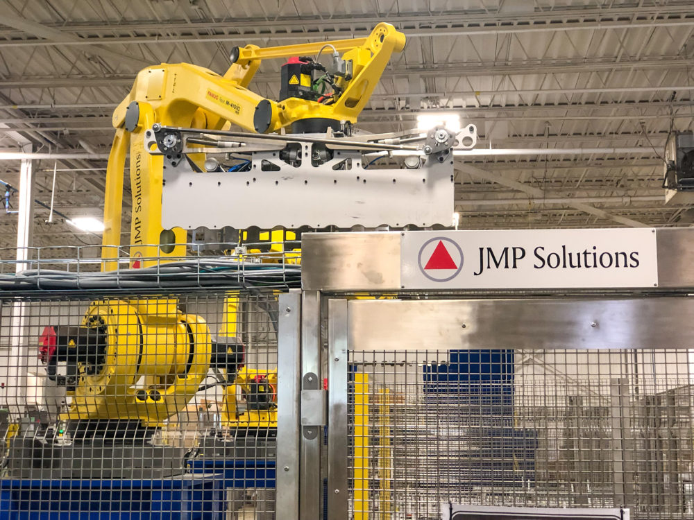Automated Robotic System Cell